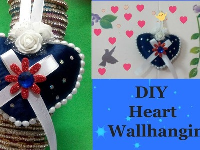 DIY Heart Decors in living Room  Heart Wall Hanging   Wall Decor Ideas   Valentines's Day Ideas !