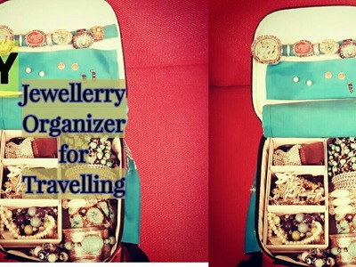 DIY - Jewellerry Organizer Bag???? for Travelling✈✈