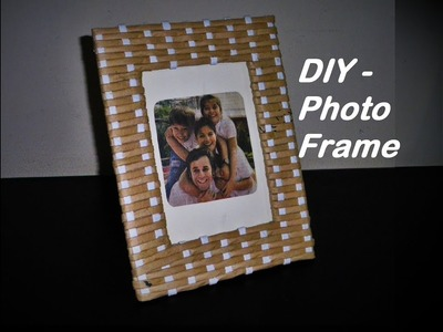 DIY - Photo Frame Easy to Make. With Paper |