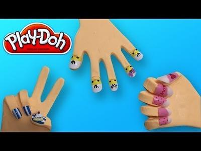 DIY Play-Doh Learn Make Rock Paper Scissors ✊???? ✌????????????  & Foam Clay Surprise Eggs ???? Toy Soda