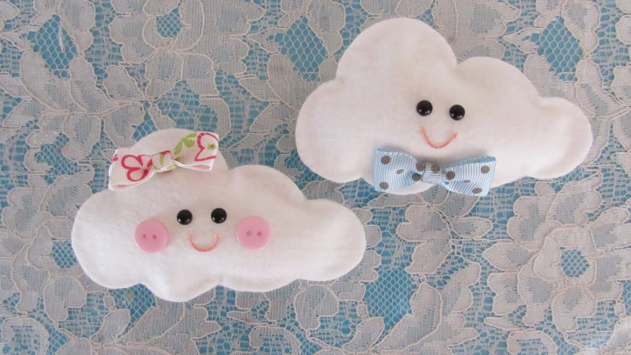 DIY - Scented cloud for souvenir NO SEW
