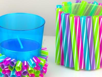 DIY Straw Crafts | Amazing Drinking Straw Ideas