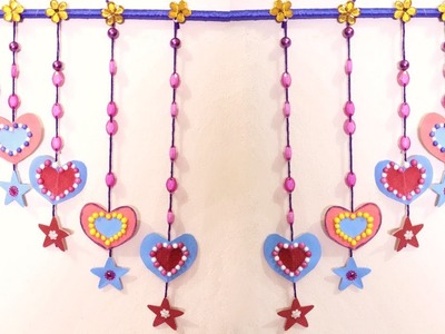 DIY : Wall Hanging | Heart Wall Hanging for Home Decorations | Home Decorating Ideas on a Budget
