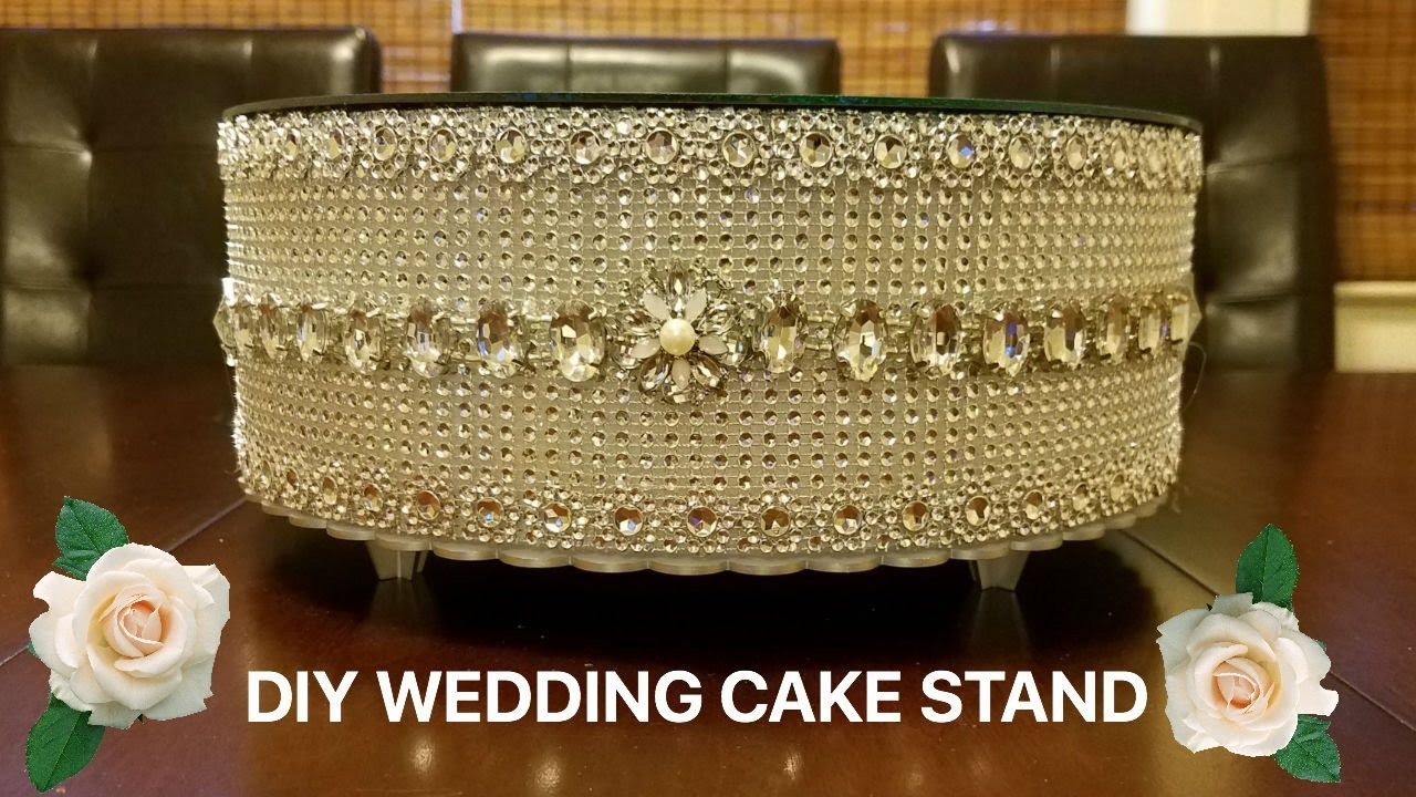 Diy Wedding Cake Cupcake Stand
