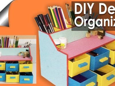 EASY DIY desk organizer. drawer organizer.Pencil Holder
