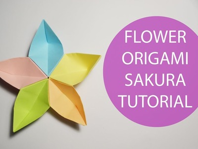 Origami easy paper butterfly origami cute easy butterfly diy flower origami sakura turorial diy paper decoration mightylinksfo