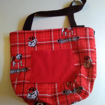 Ga. Bulldogs totebag