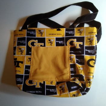 Ga. Tech tote bag