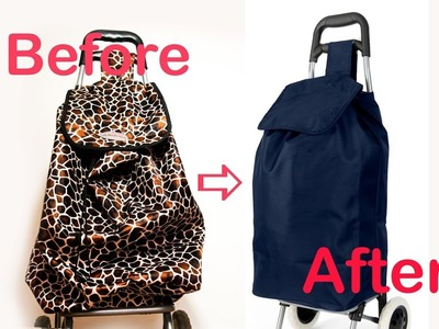 How Change Trolley Bag? It's Easy! DIY