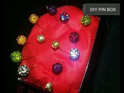 How to Make DIY Hijab Pin Cushion. হিজাব পিন বক্স
