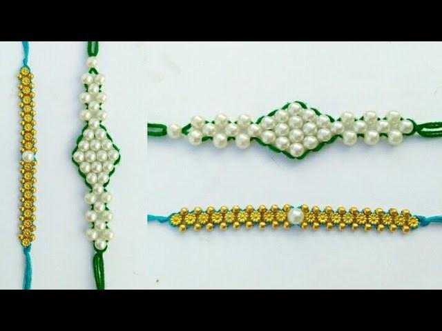 How To Make Rakhi At home Step By Step | DIY | Raksha making ideas |  Woolen thread Rakhi | tutorial
