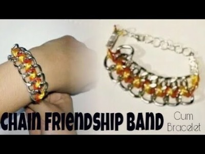 How to make simple friendship Band||DIY friendship bracelet at home