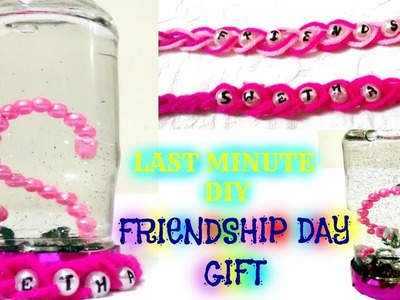 Last minute Friendship Day Gift | Easy DIY Snowglobe with Friendship Band