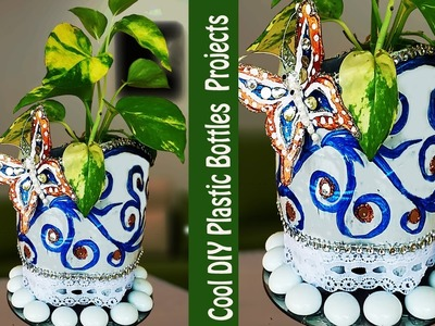 Old Plastic Bottles crafts-Recycled Crafts-Easy DIY Plastic Bottle Projects