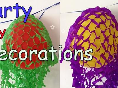 Party DIY Decorations - Decorated Balloons Garland Ana | DIY Crafts