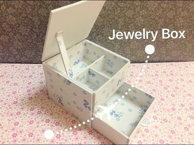Simple DIY | Craft - How to Make Jewelry Box - Jewelry Box For Kid