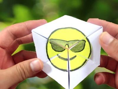 Step by Step : Magic Emoji DIY Paper Game (2017)