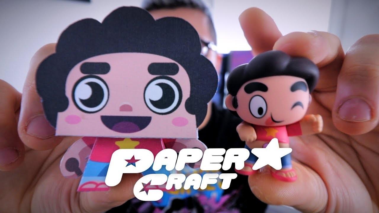 Steven Universe Paper Craft DIY