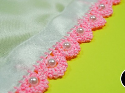 Stitch Design for Clothes : Border Stitches by DIY Stitching #22