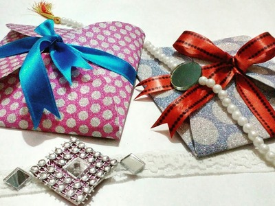 Super Easy DIY- ORIGAMI ENVELOPE (RAKHI SPECIAL)
