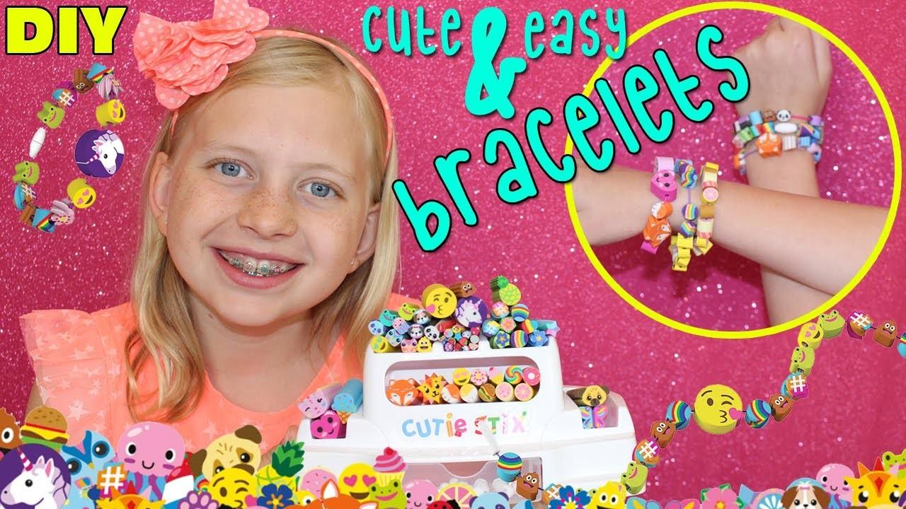 Super Fun DIY Bracelets with Cutie Stix!