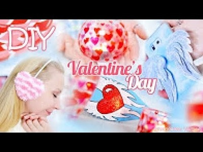TOP 5 DIY Valentine's Day Gifts and Room Decor Ideas 2017