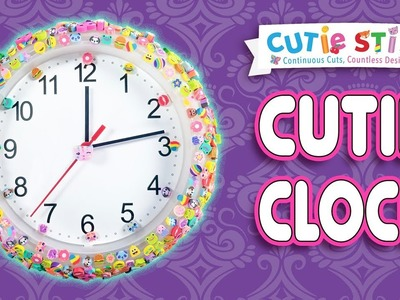 Wall Clock DIY | How To Wow Show | Official Cutie Stix