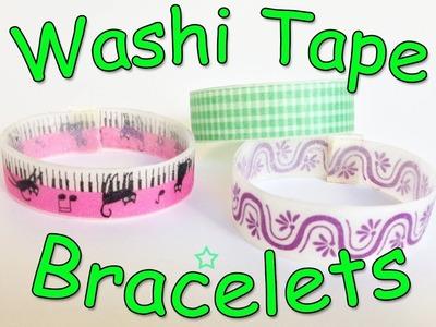 Washi Tape Bracelets - Ana | DIY Crafts