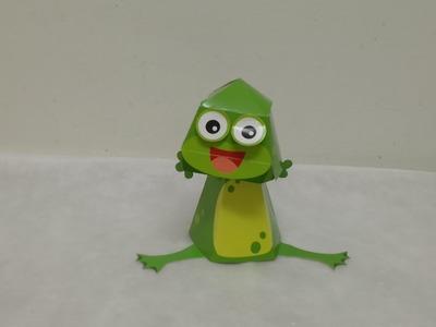 Kids, 3d Origami origami animals frog, 3d Origami origami