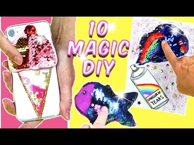 5 Minutes Crafts To Do When you're BORED! 10 DIY AMAZING VIRAL COLOR-Changing | Easy DIY Crafts