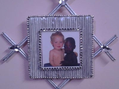 Best Out Of Waste Paper Beautiful Photo frame