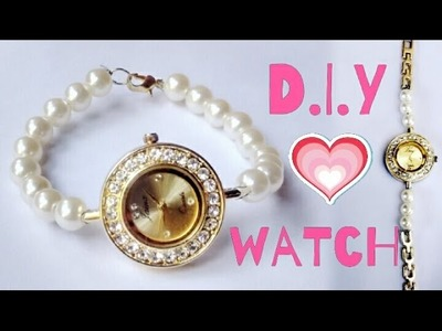 D.I.Y watch. how  to make your own watch.repair your watch