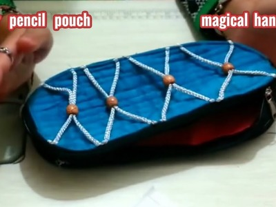 Designer Pencil Pouch or Designer Student Pouch.Diy.how to make at home.