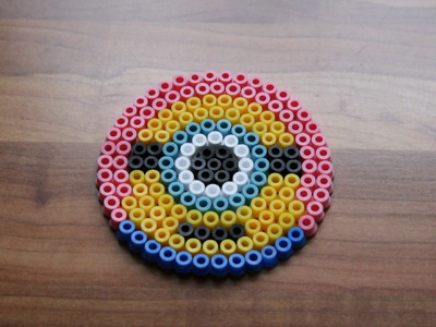 DIY#5 Minion Perler Beads