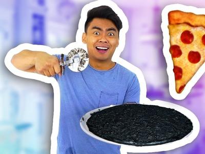 DIY BLACK PIZZA!!