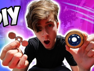 DIY COIN FIDGET SPINNER! (FROM RIPSTICK)