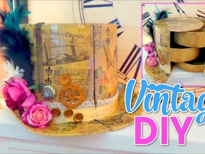 DIY CRAFTS FOR ROOM DECOR! VINTAGE HAT ORGANIZER DIY Room Decorating Ideas for Teenagers