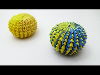 Diy crafts - Paper Pumpkin Ball - Part 2 (Raman Dhillon)