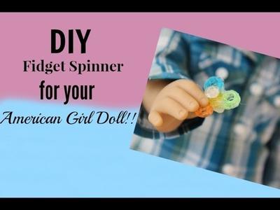 DIY Fidget Spinner for Your American Girl Doll