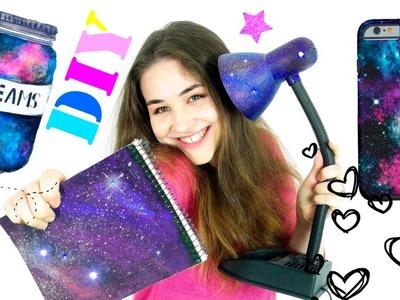 DIY GALAXY ! 5 Super ideas  HOW TO MAKE GALAXY LAMP Galaxy notepad, оrganizer and    EVERYTHING