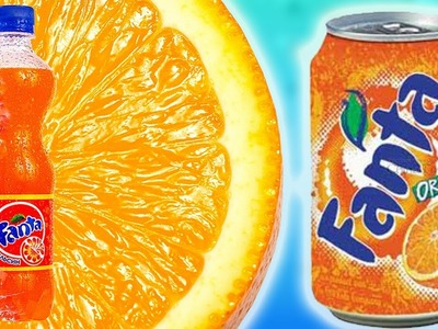 DIY | How to make Fanta Orange