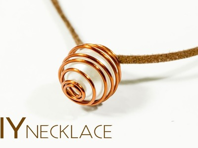DIY Jewelry: Make Easy Bead Necklace   Crafts iDIYa #1