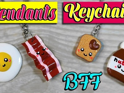 ♥ DIY: Keychains or pendants BFF ( Easy and Fast ) ♥