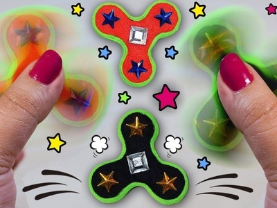 ♥ DIY: Make your FIDGET SPINNER HOMEMADE AND REVERSIBLE ♥