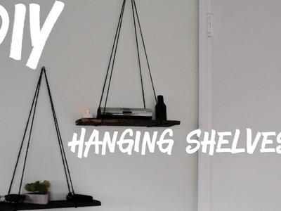 DIY Modern Floating Shelves (Modern Decor, Tumblr Inspired, Room Decor 2017, Trendy Minimalist)