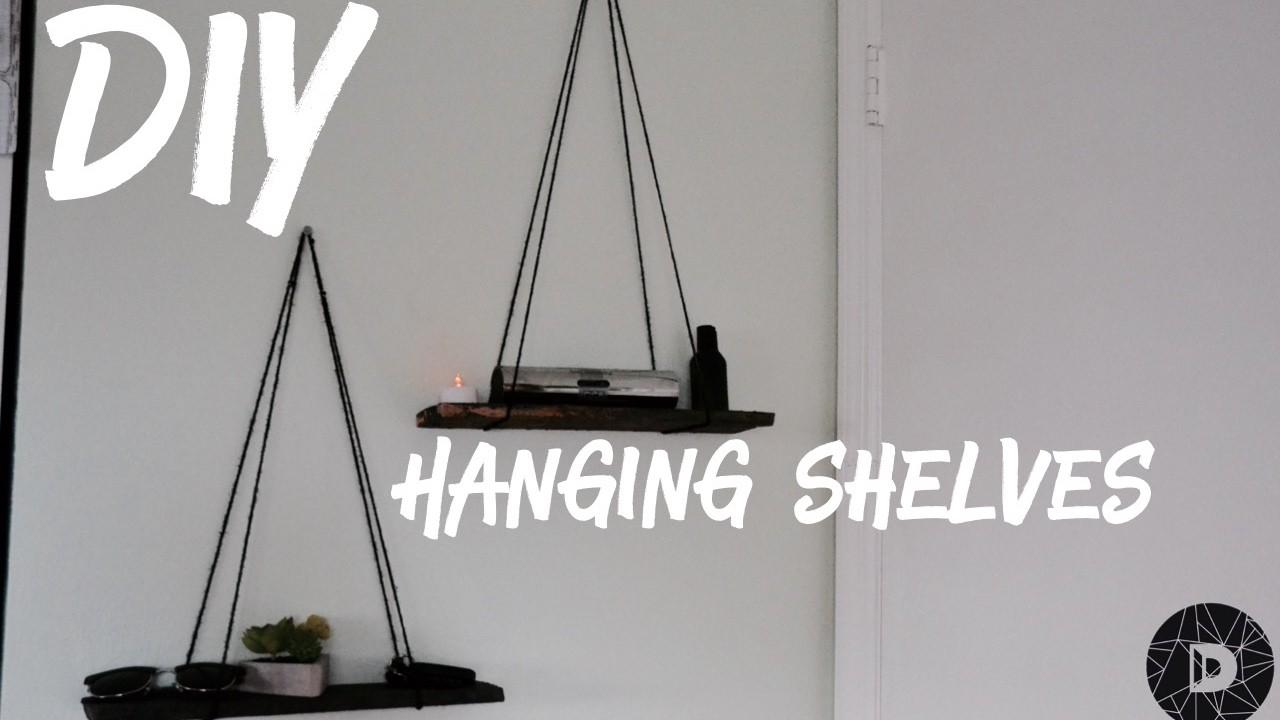Diy modern floating shelves modern decor tumblr inspired for Diy minimalist decor