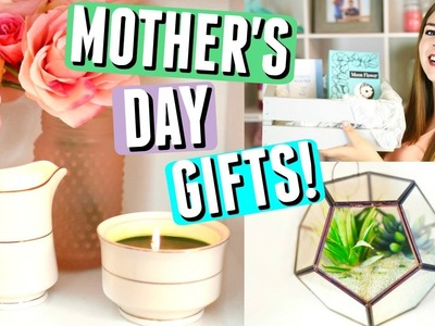 DIY MOTHER'S DAY GIFTS! EASY DIY GIFTS FOR MOM + MOTHERS DAY GIFT IDEAS!