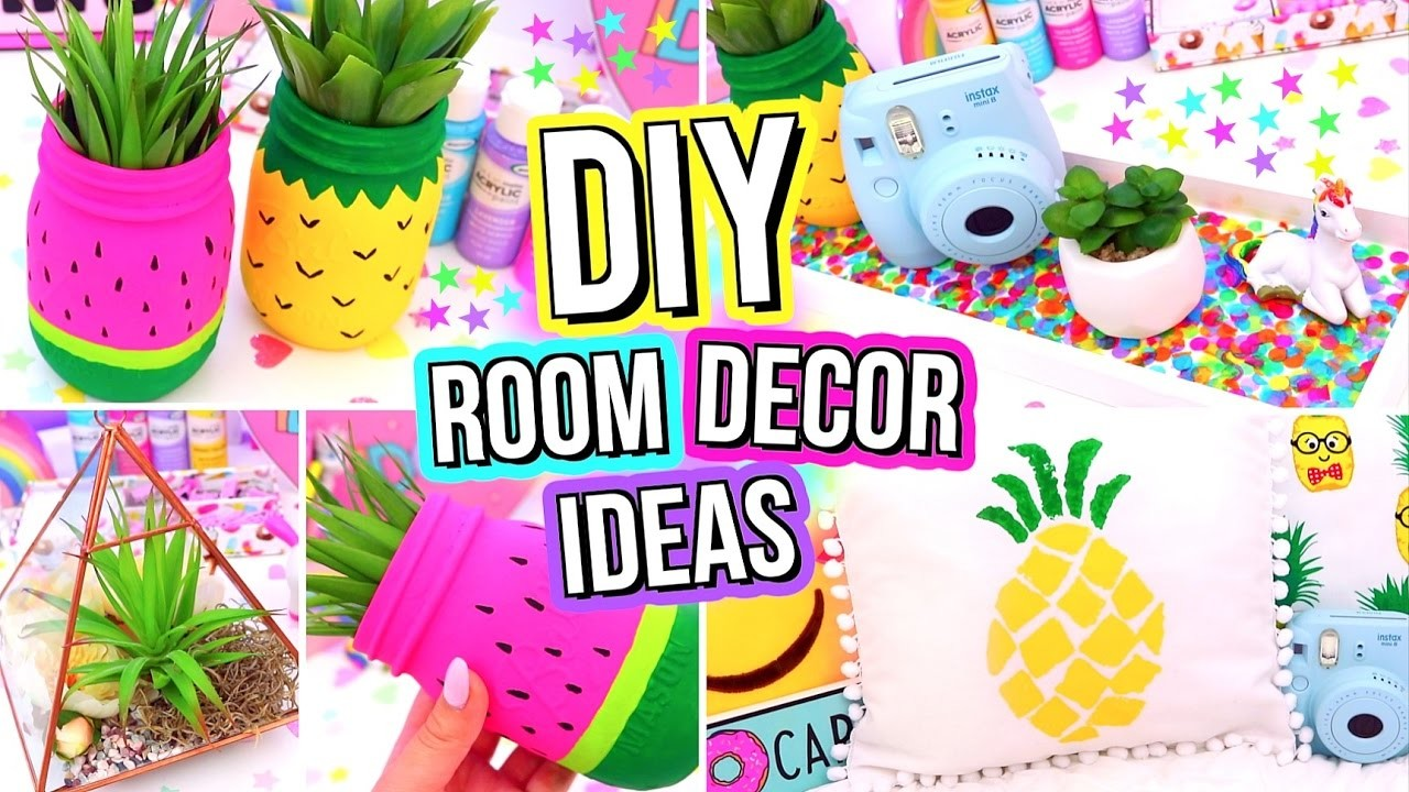 Diy room decor ideas easy fun 5 minute diys for your for Ideas for your room