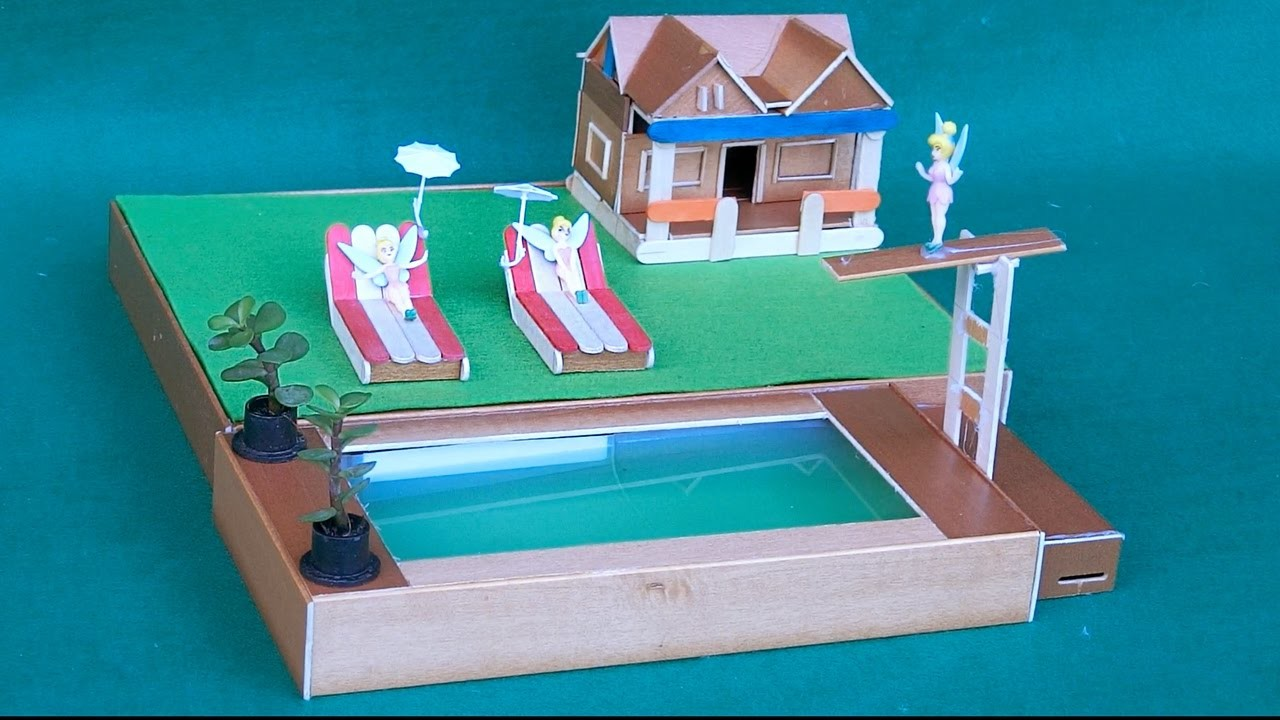 DIY Swimming pool for Fairy Garden | Crafts ideas