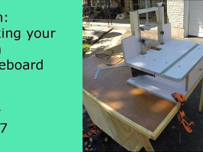 DIY Trim making your own baseboard